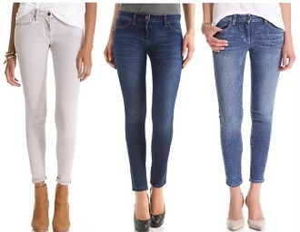 Зауженные джинсы в магазине issaplus.ru